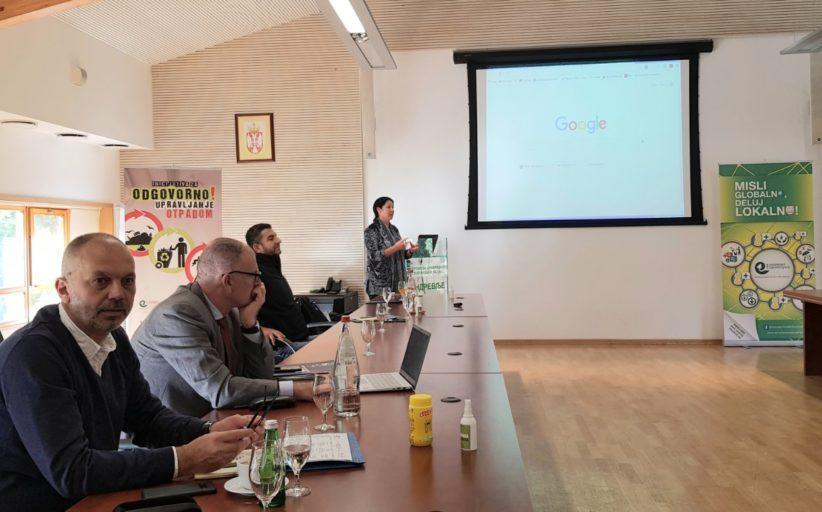 """У центру за привредно технолошки развој на Андревљу у току је тренинг """" Од отпада до ресурса"""""""