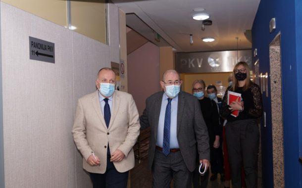 У Привредној комори Војводине одржан је састанак председника Привредне коморе Војводине Бошка Вучуревића и председника Скупштине АП Војводине Иштвана Пастора