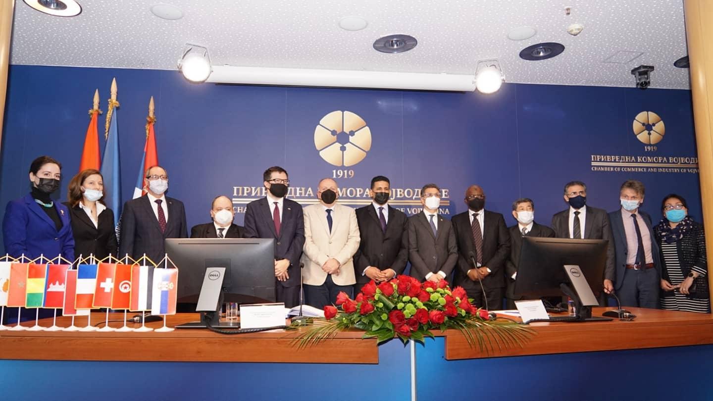 У Привредној  комори  Војводине одржан је Округли сто  Групе франкофоних амбасадора у Републици Србији