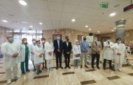 Уручење донације- респиратора Клиничком центру Војводине