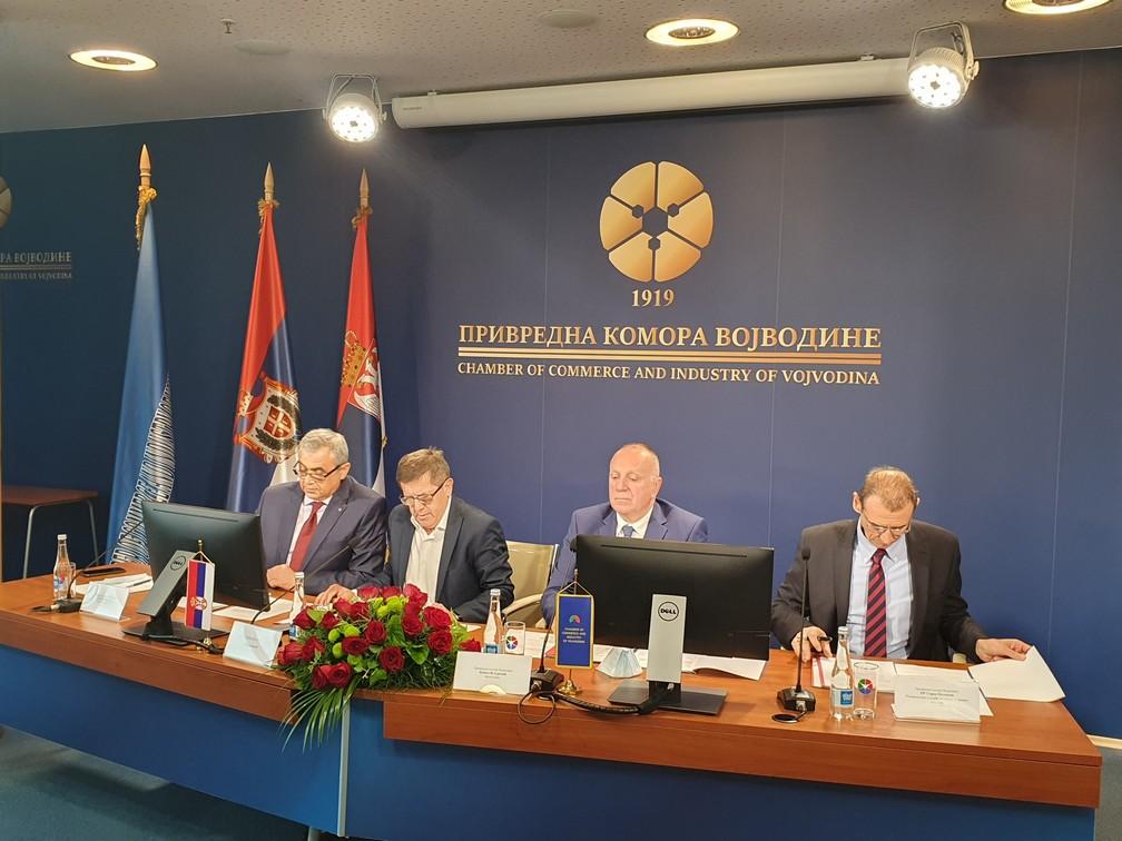 Одржана конститутивна седница Скупштине  и Управног одбора Привредне коморе Војводине