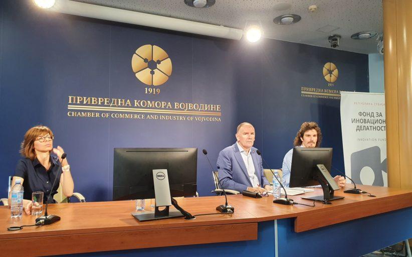 """У Привредној комори Војводине одржана конференција """" Представљање програма финансирања Фонда за иновациону делатност"""""""