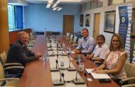 Владимир Вања , агроекономски дипломата у амбасади Републике Чешке у посети Привредној комори Војводине